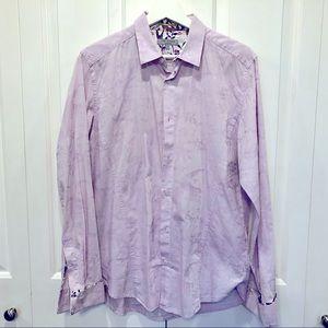 GUC Ted Baker Lilac Dress Shirt